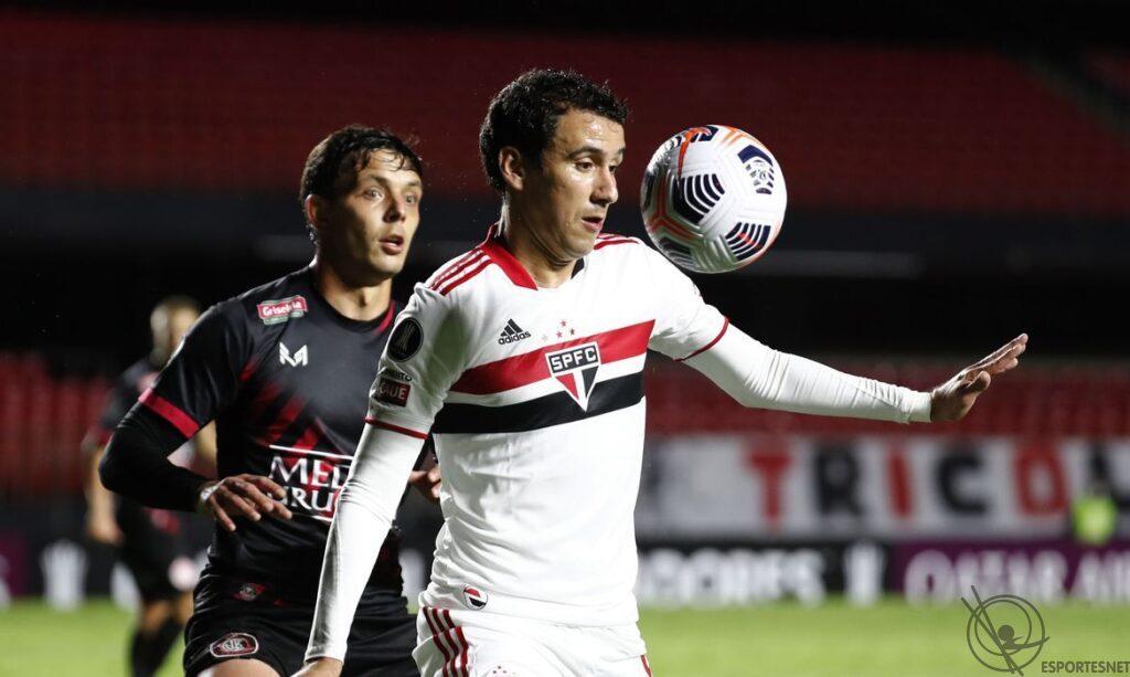 São Paulo vence Rentistas pela Libertadores