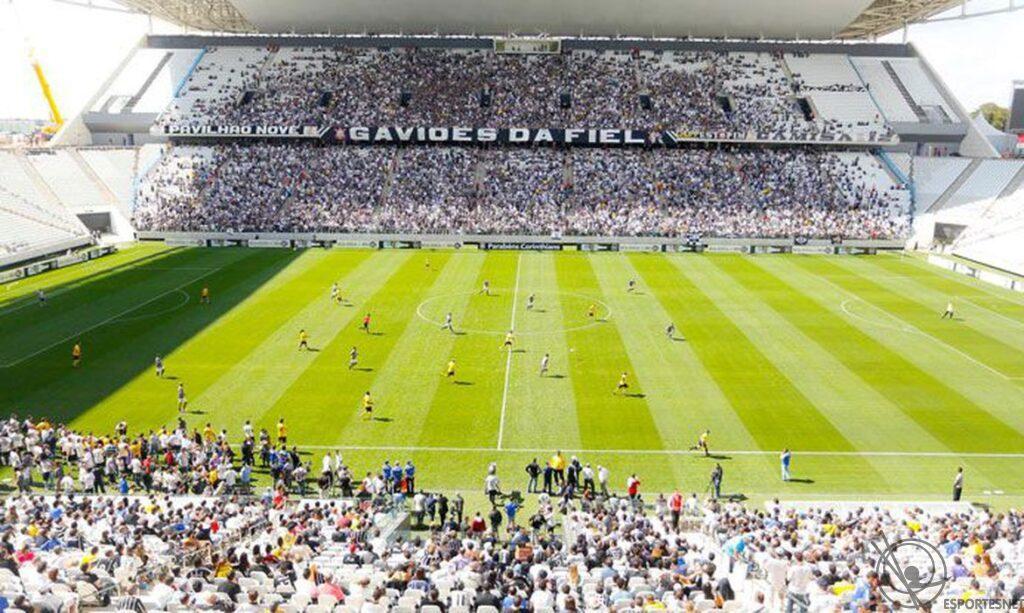 Arena Corinthians palco da semifinal do Paulistão 2021