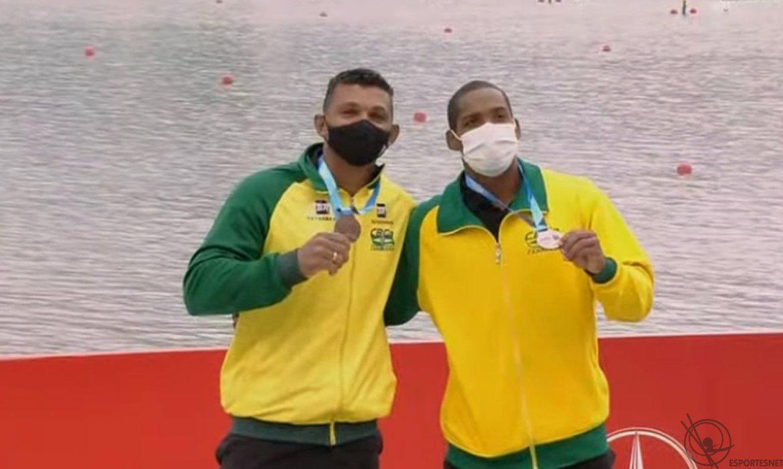 Bronze do Brasil no mundial de canoagem