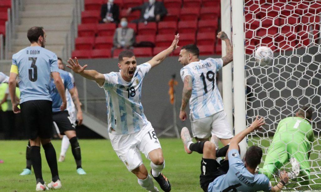 Argentina e Uruguai pela Copa América