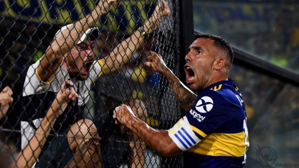 Tevez, ídolo do Boca Juniors
