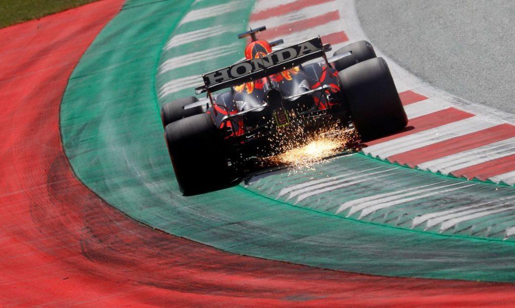 Verstappen sai na frente na Estíria