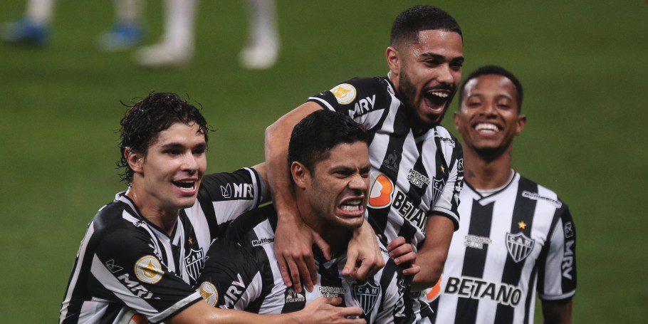 Hulk marca na vitória sobre o Corinthians